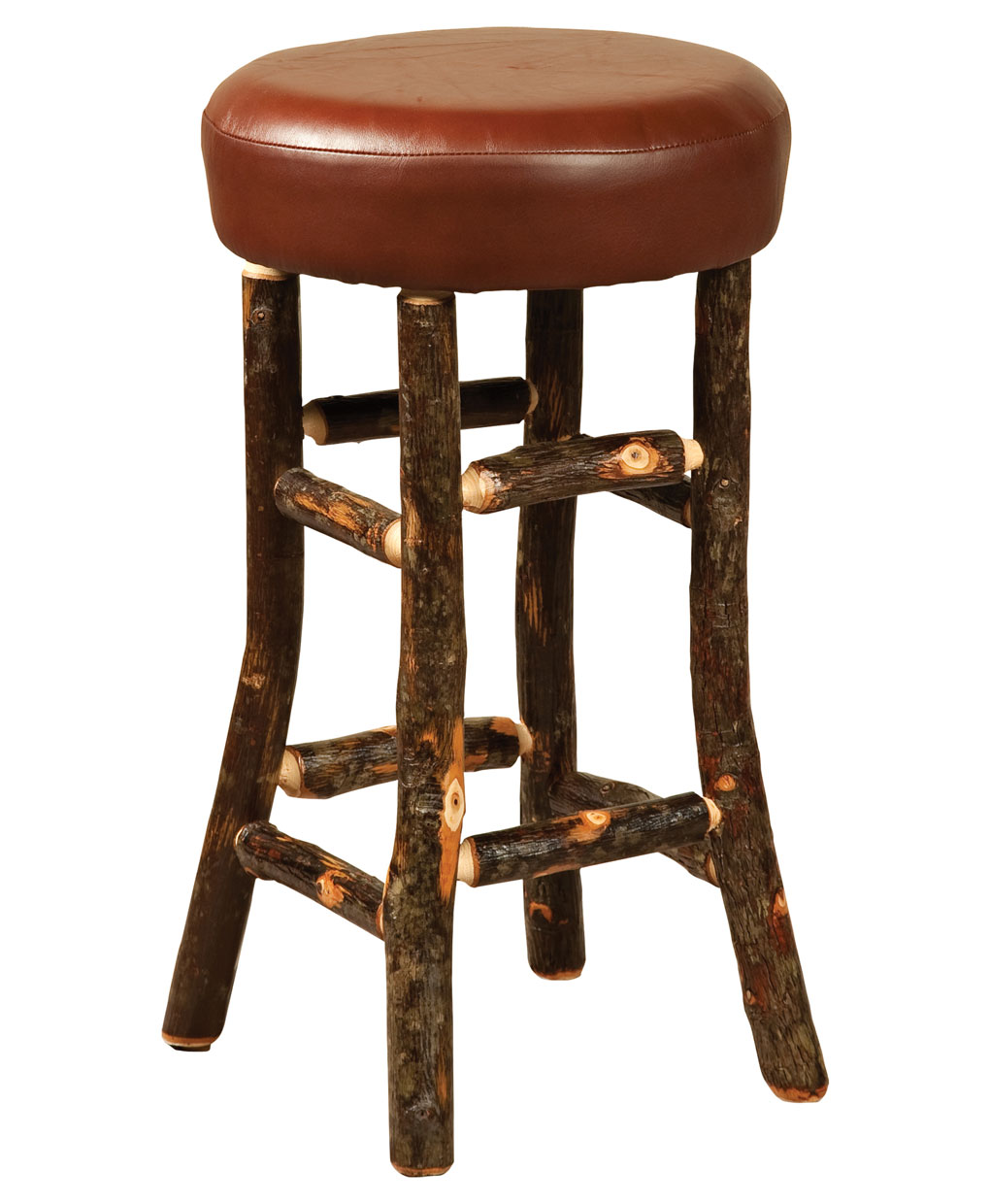 Hickory Hoosier Bar Stool Amish Direct Furniture