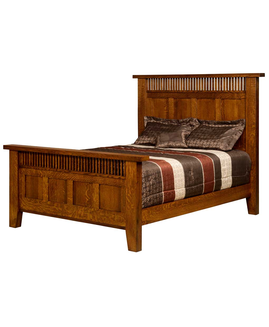 Houston Mission Bed Amish Direct Furniture