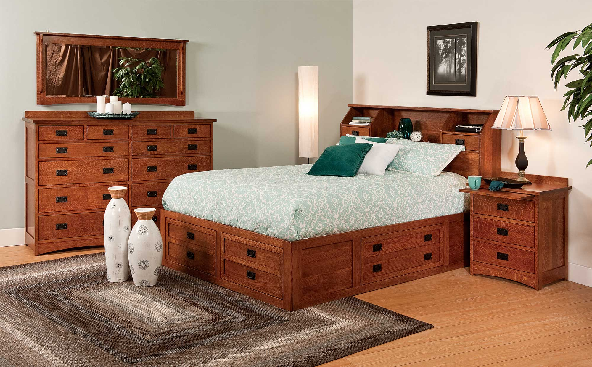 Jacobson bed amish direct furniture - Amish bedroom furniture ...