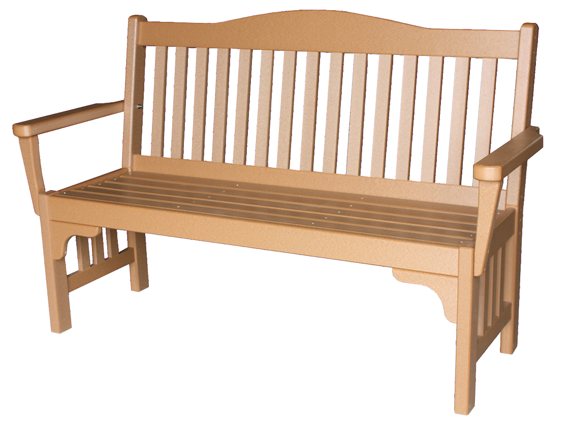 Poly Park Mission Bench Amish Direct Furniture