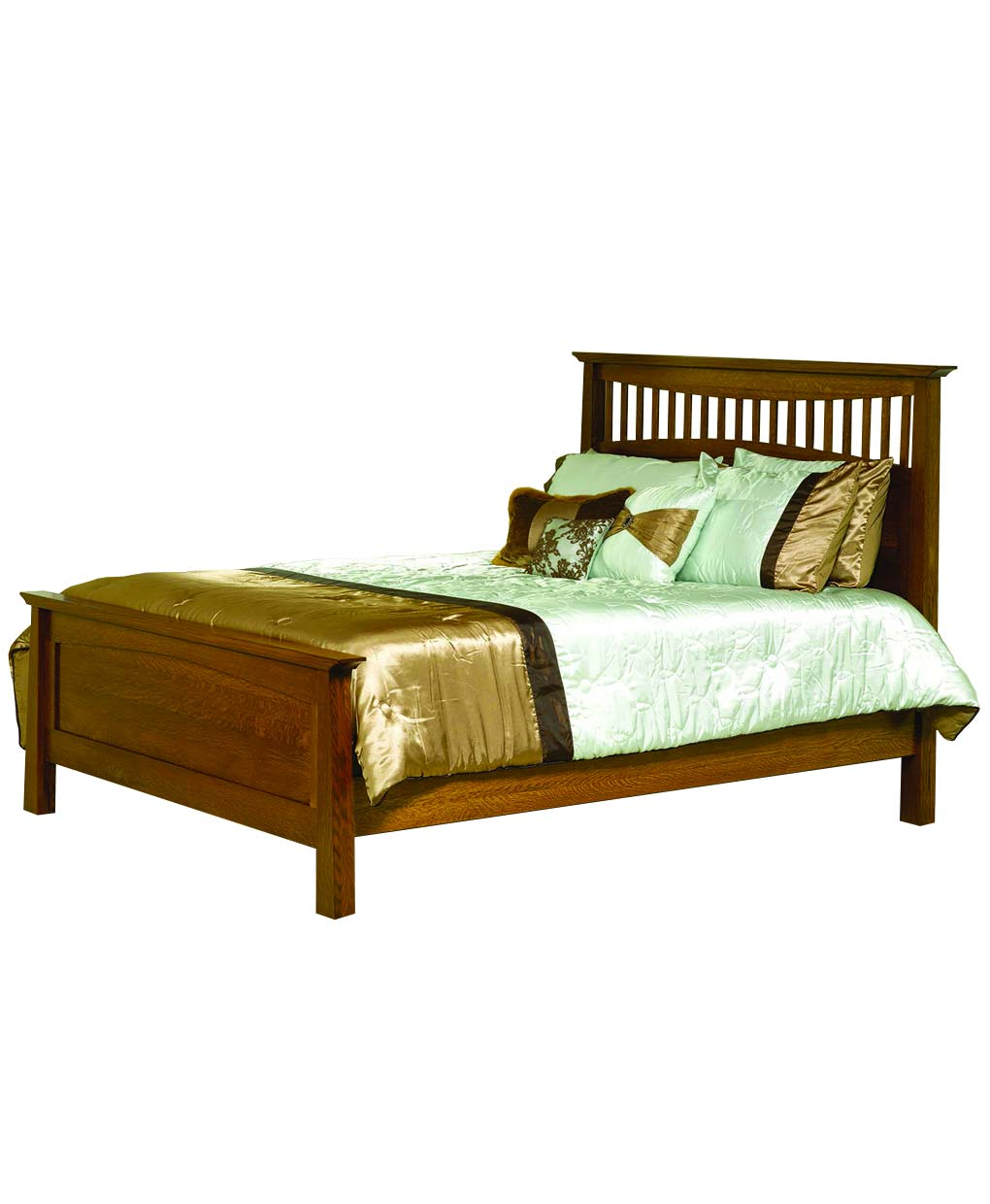 Bow Ridge Mission Bed Amish Direct Furniture