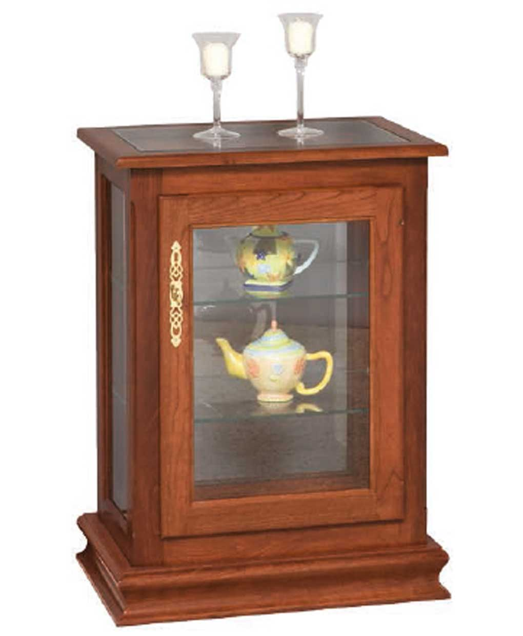 Console Curio End Table Amish Direct Furniture