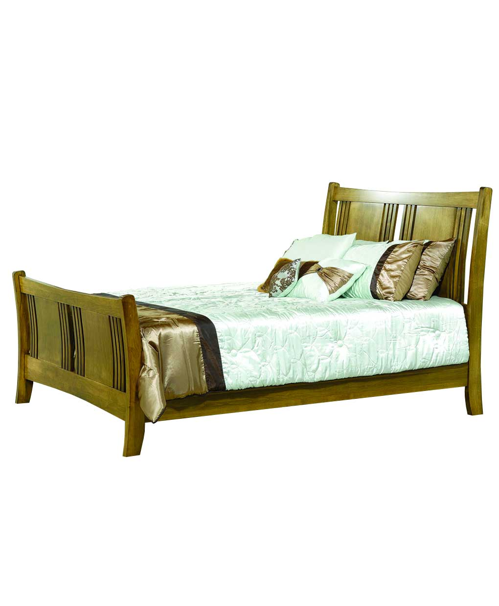 Granville Sleigh Bed Amish Direct Furniture