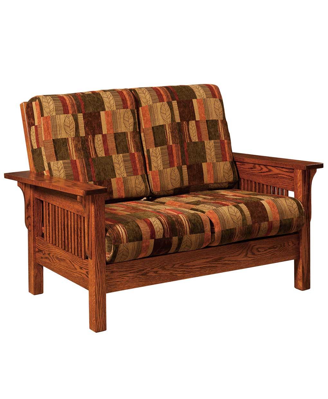 Leah Loveseat Amish Direct Furniture