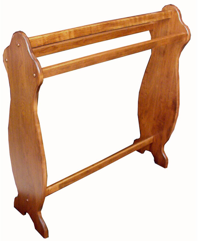 Medium Quilt Rack Cherry Amish Direct Furniture