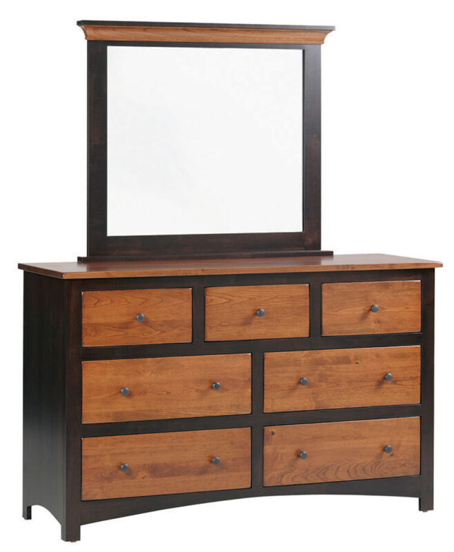 Avondale Amish 7 Drawer Dresser