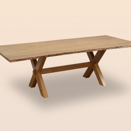Frontier Dining Table with Live Edge