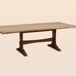 Wasilla Dining Table with Live Edge