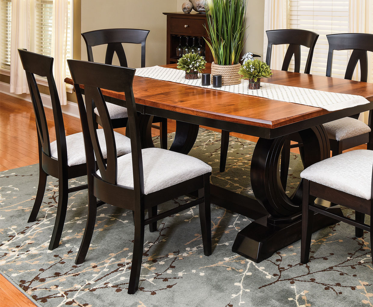 Amish Kitchen Table Chairs