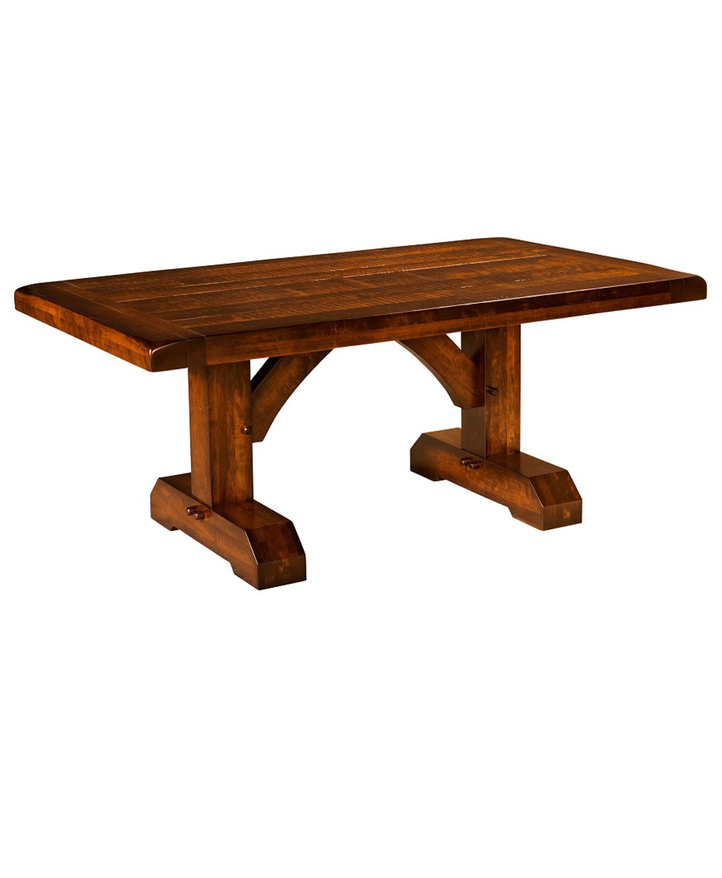 Reagan Trestle Table Amish Direct Furniture