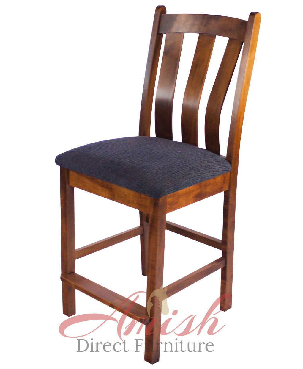 Vancouver Amish Stationary Barstool