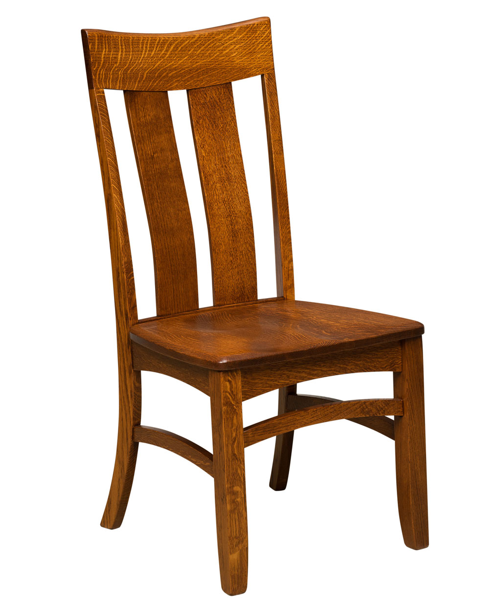 Galena dining chair amish direct furniture for Informal dining chairs
