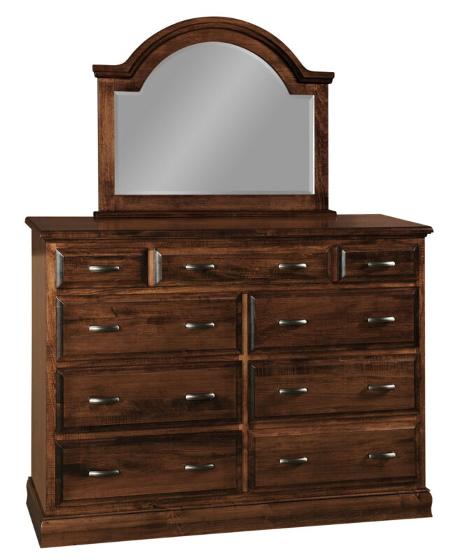 Adrianna Amish 9 Drawer Dresser