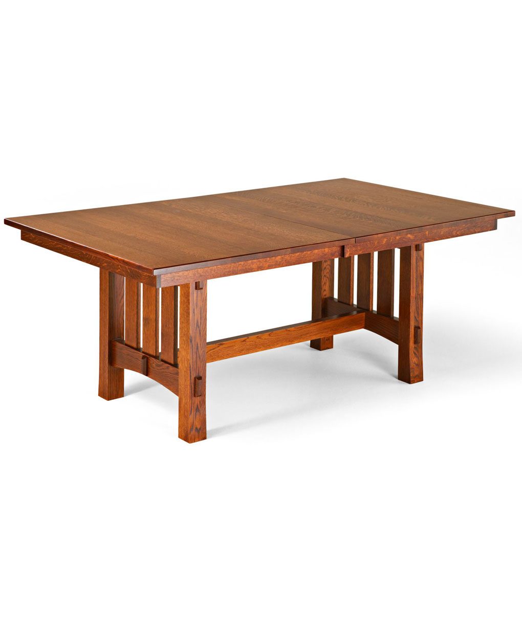 aspen trestle amish dining table