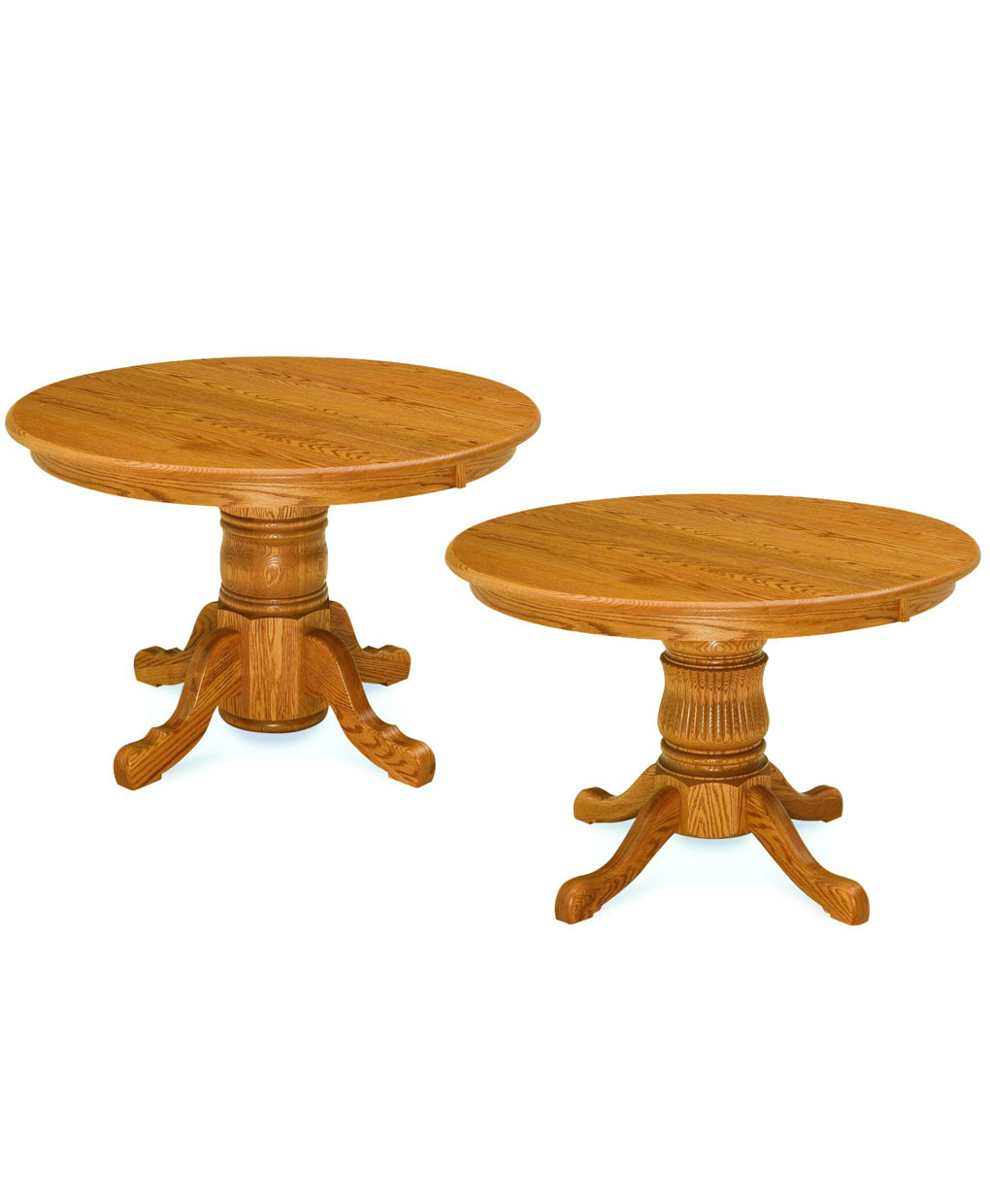 Single Pedestal Dining Table Amish Direct Furniture