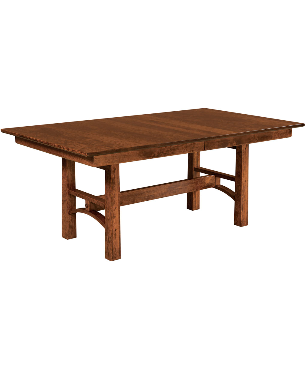 Bridgeport Trestle Table Amish Direct Furniture