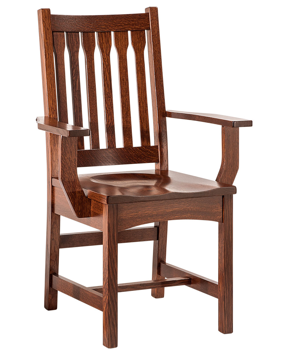 Charmant Buchanan Amish Dining Chair [Arm]