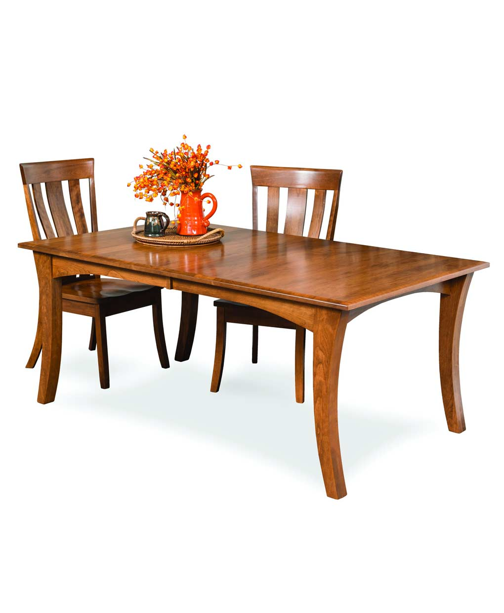 Charmant Chandler Amish Leg Table Set