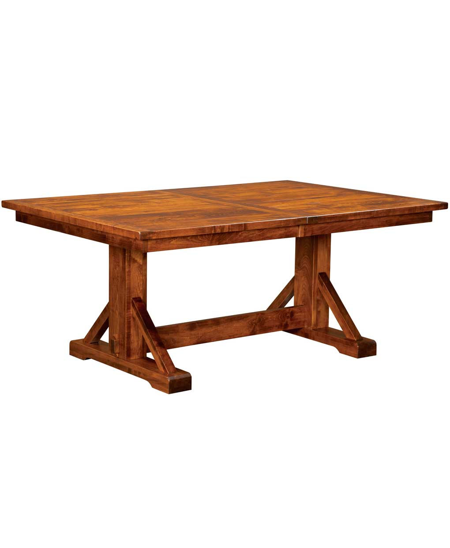 Chesapeake Amish Trestle Table