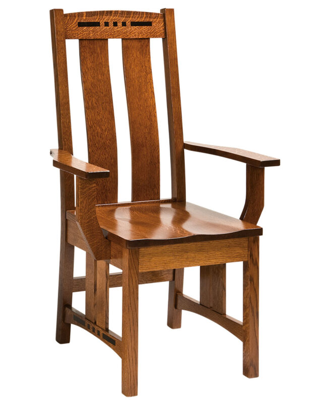 Colebrook Amish Dining Chair [Arm]