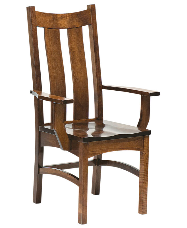 Country Shaker Amish Dining Chair [Arm]