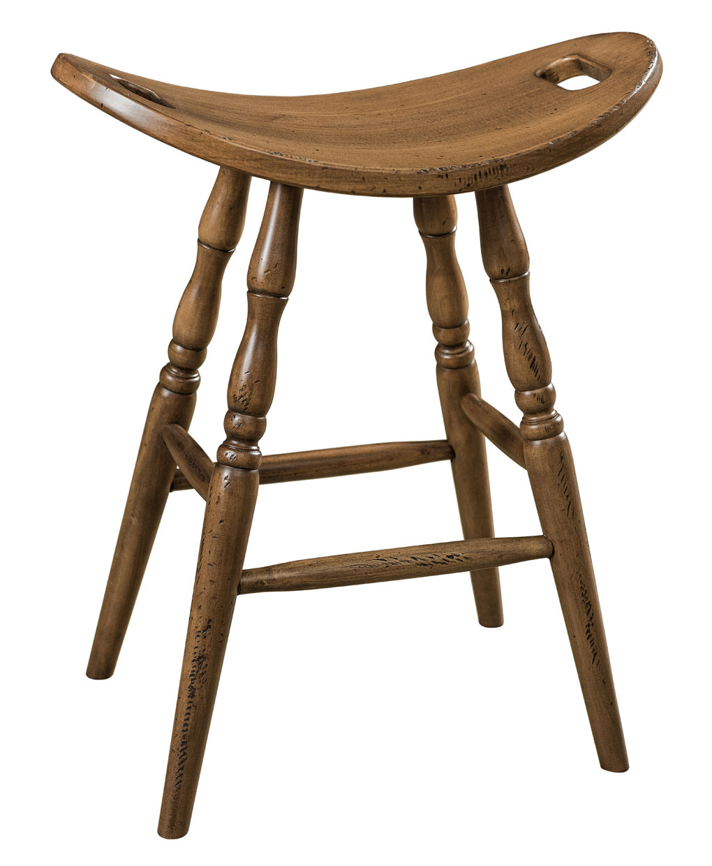 Saddle Bar Stool Amish Direct Furniture