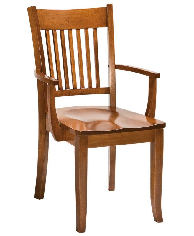 Frankton Amish Dining Chair [Arm]