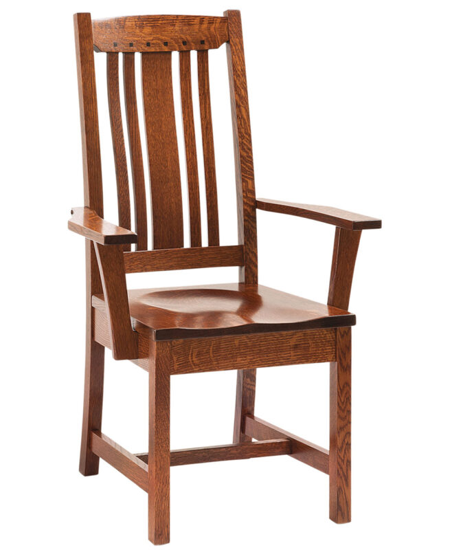 Grant Amish Dining Chair [Arm]