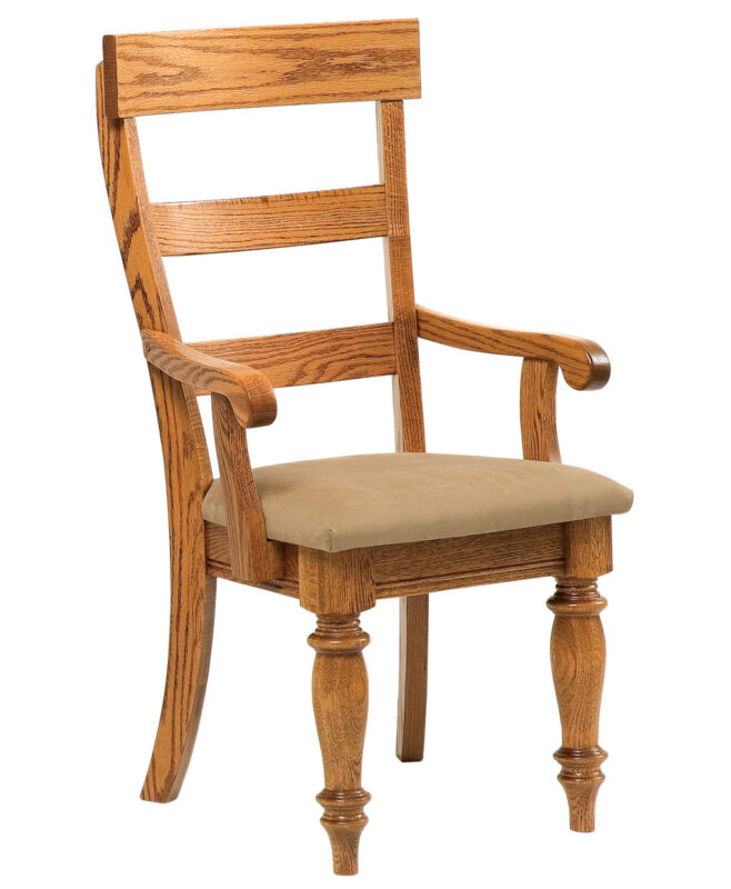 Harvest Highback Amish Dining Chair[Arm]
