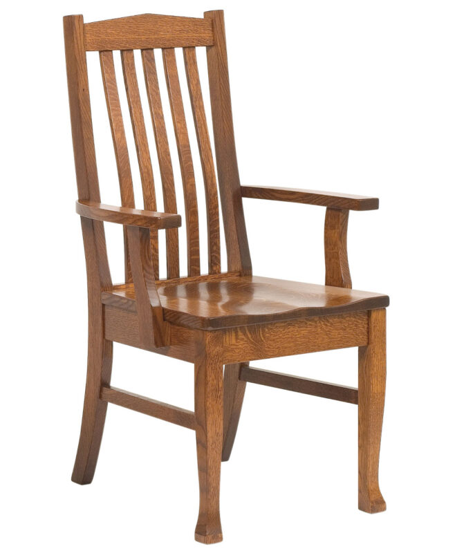 Heritage Amish Dining Chair [Arm]