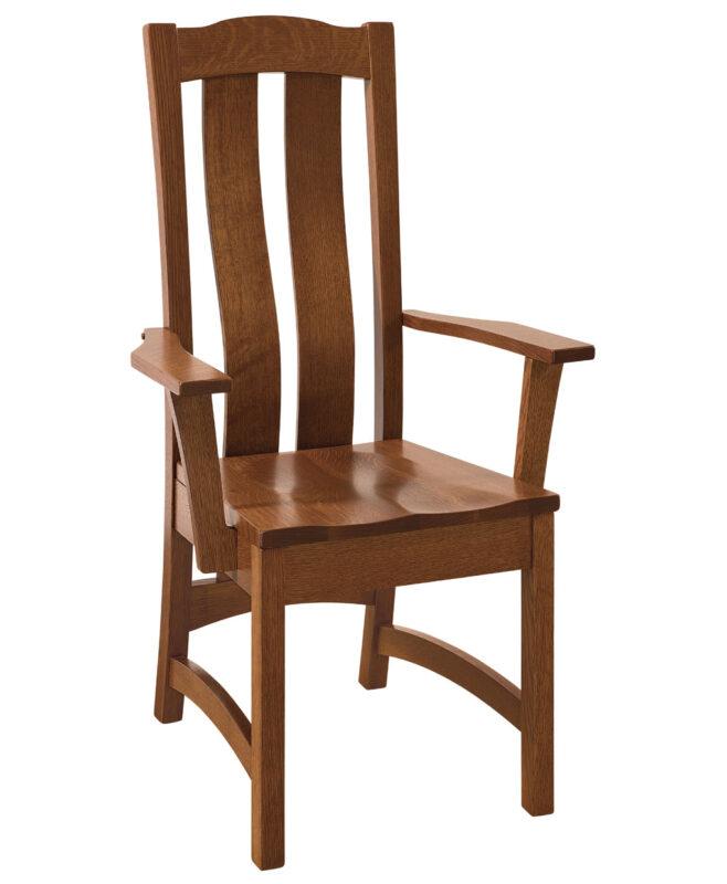 Kensington Amish Dining Chair [Arm]