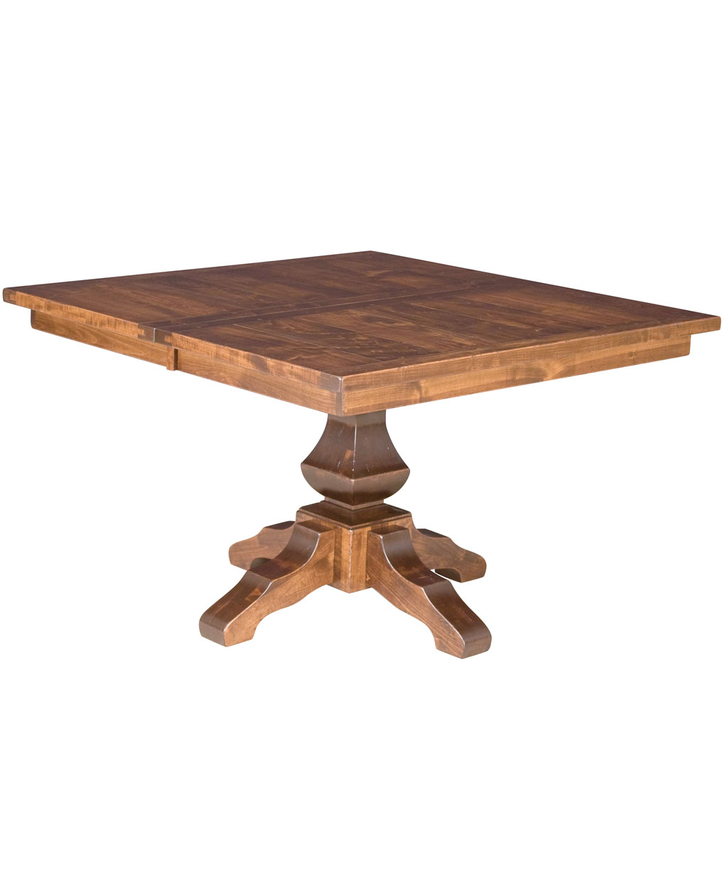 Lincoln Single Pedestal Dining Table Amish Direct Furniture