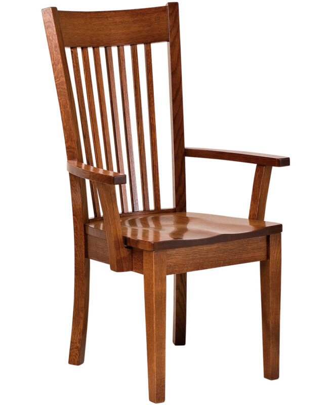 Mill Valley Amish Dining Chair [Arm]