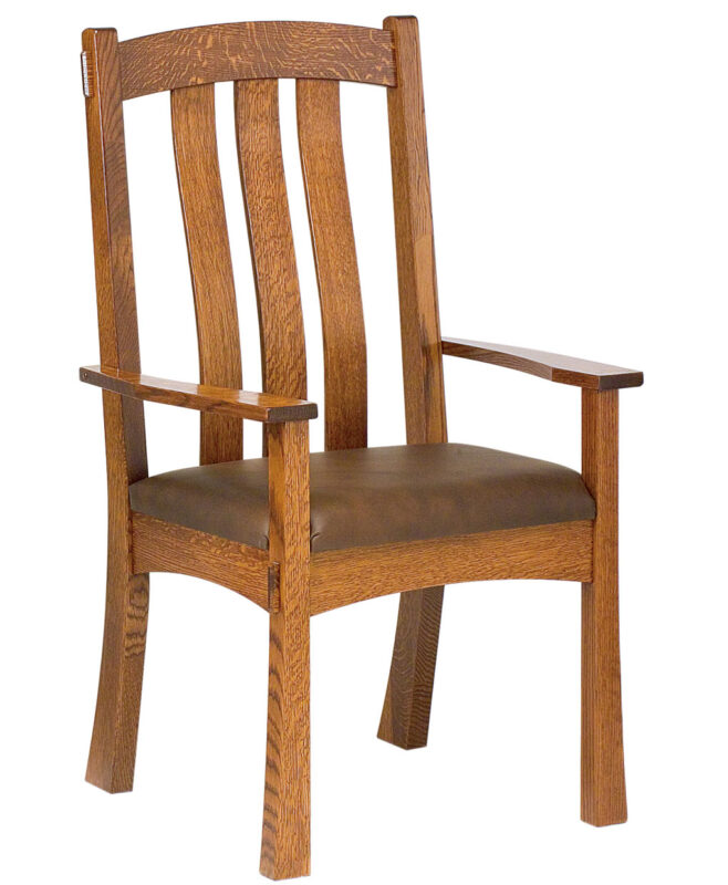 Modesto Amish Dining Chair [Arm]