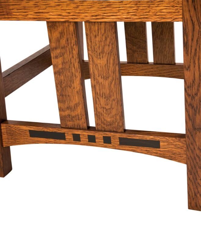 Colebrook Chair and Bar Stool [Inlay Detail]