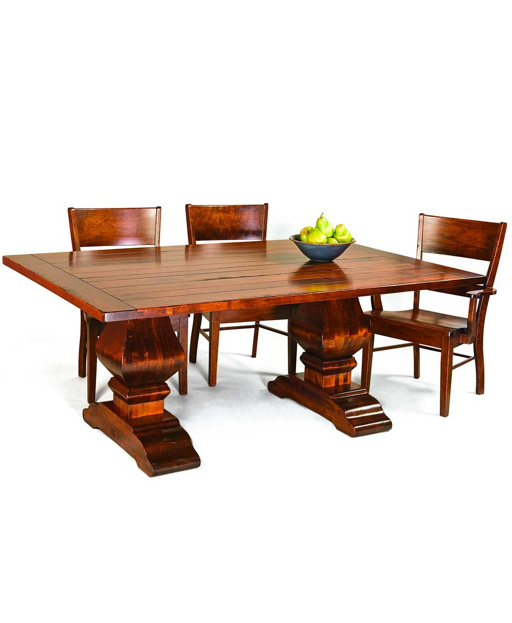 Wilmington Trestle Dining Table Amish Direct Furniture - Trestle dining room table