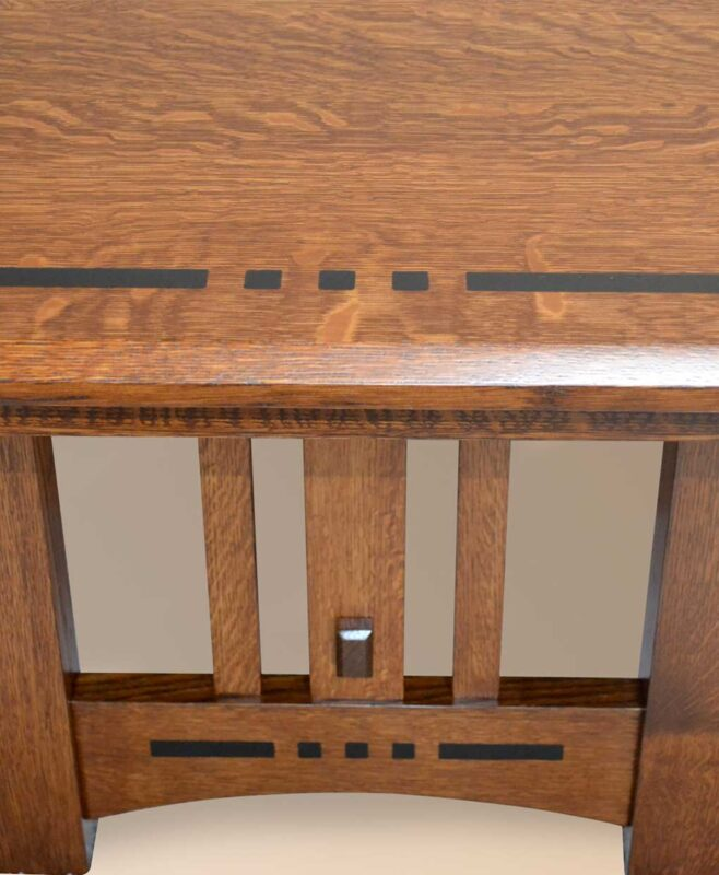 Henderson Dining Table [Colebrook Inlay / Optional]