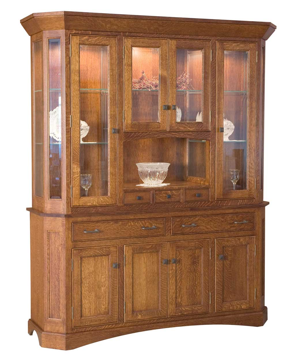 Albany Hutch Amish Direct Furniture
