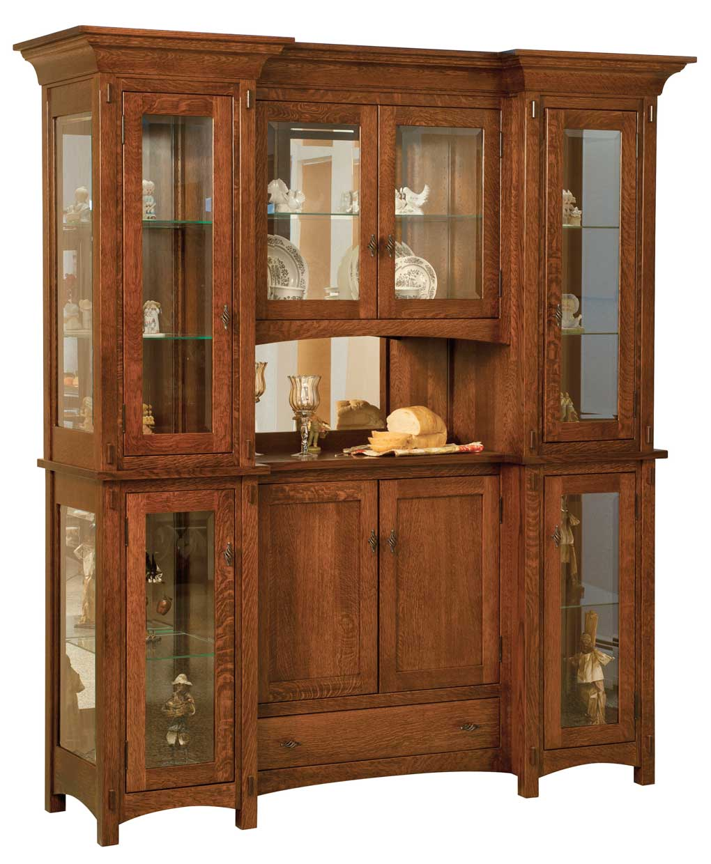 Oak Dining Room Hutch: Amish Direct Furniture