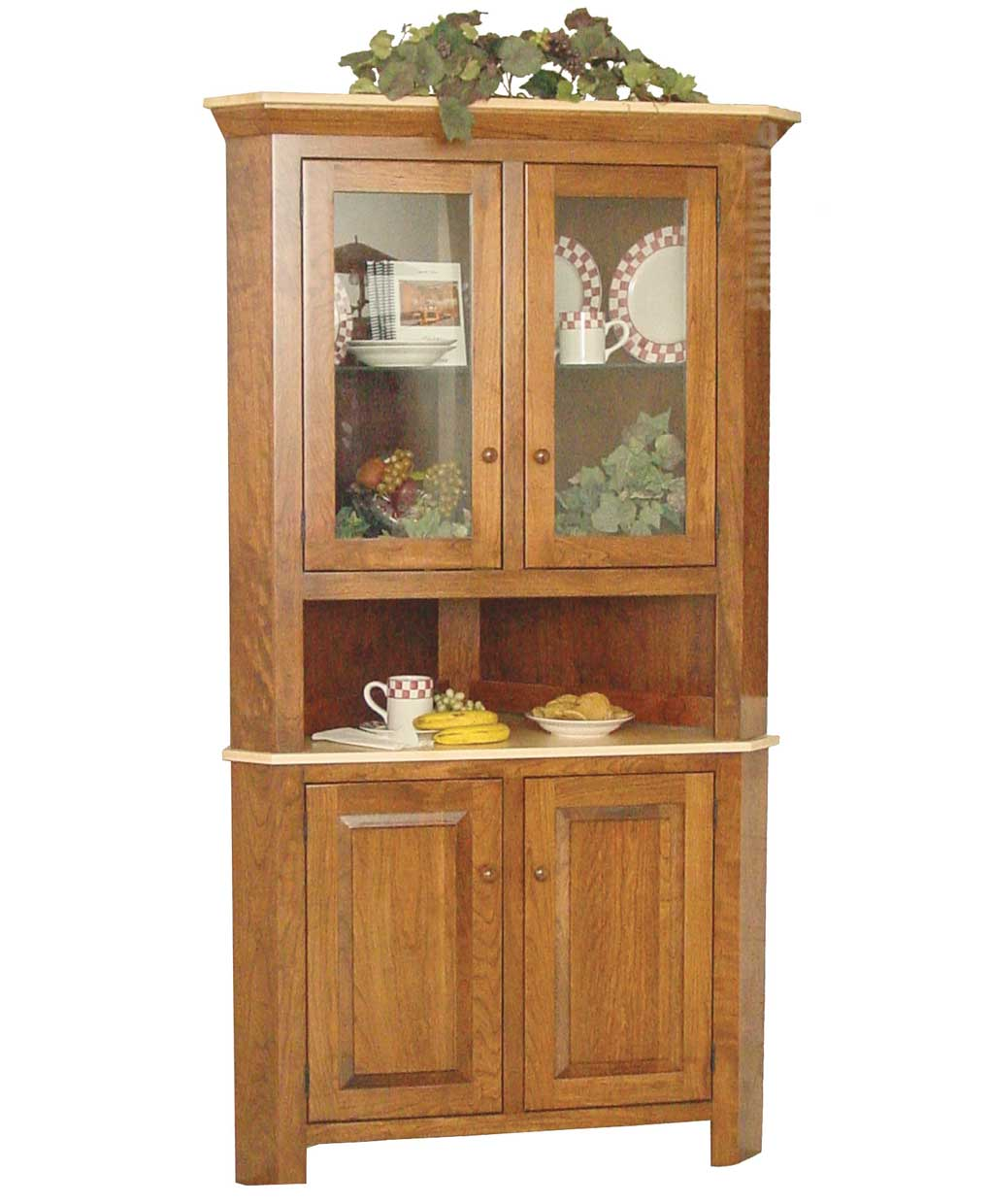 Oak Dining Room Sets With Hutch: Amish Direct Furniture