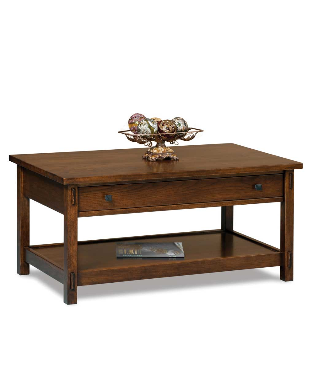 Centennial Open Coffee Table Amish Direct Furniture
