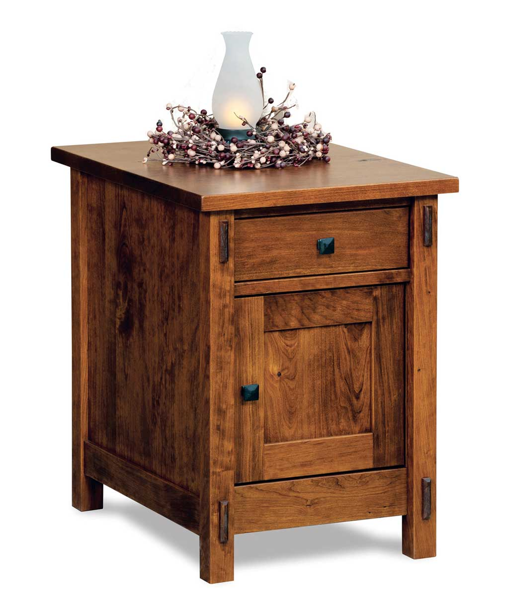 Centennial Enclosed End Table Amish Direct Furniture