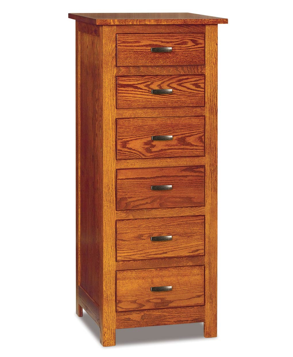 Flush Mission 6 Drawer Lingerie Chest Amish Direct Furniture