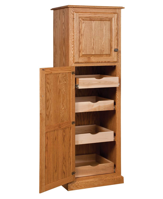 Traditional 2-Door Pantry [HB-HTP162]