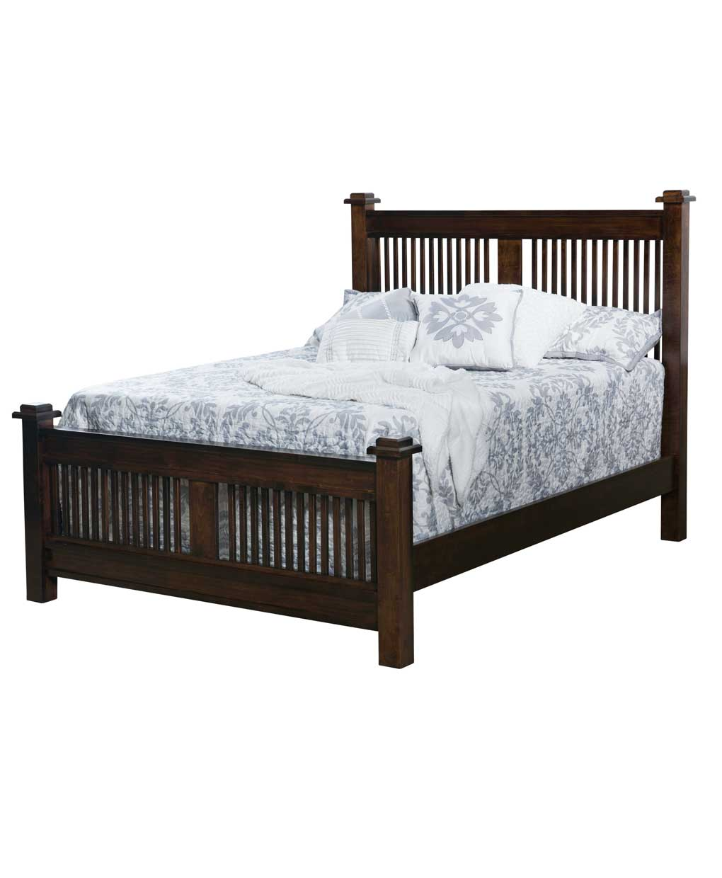 american mission bed amish direct furniture 12431 | it065