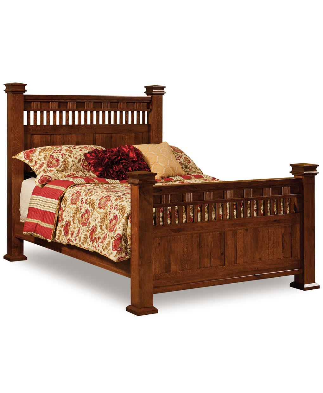 Sequoyah Bed Amish Direct Furniture