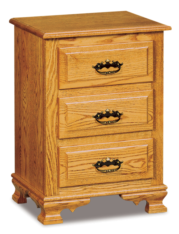 "Hoosier Heritage 3 Drawer Nightstand 20""w"