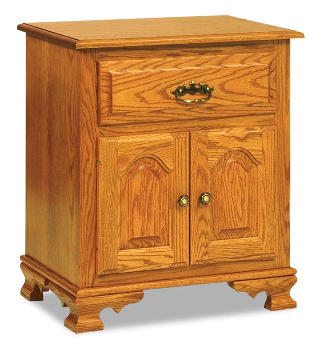 Hoosier Heritage 1 Drawer 2 Doors Taller Nightstand