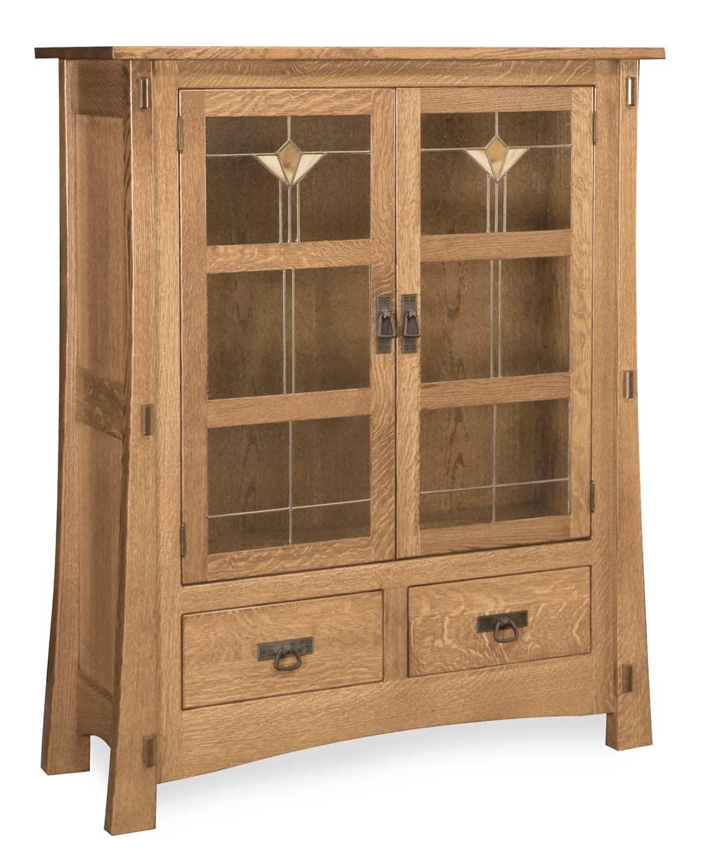 Modesto Two Door Amish Cabinet
