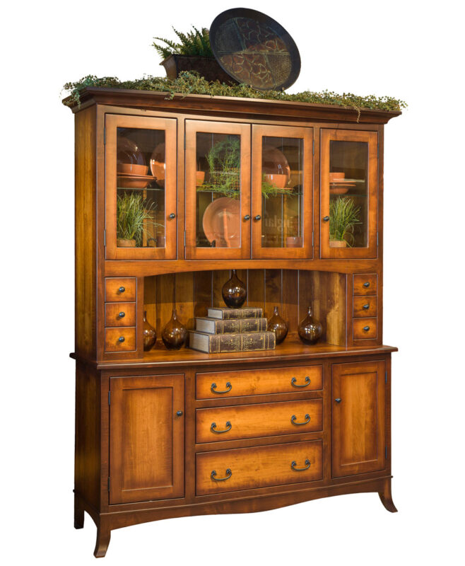 Montpelier Amish Hutch [Vintage Antique with Burnishing]